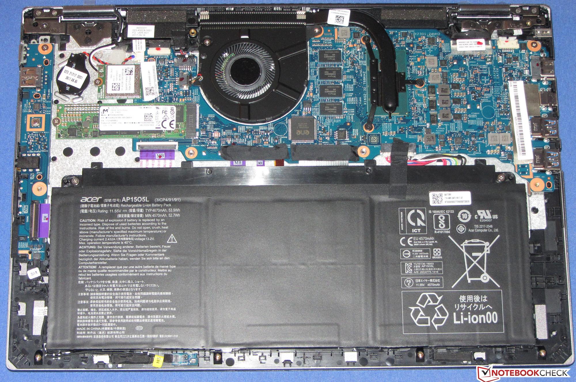 Breve An 225 Lisis Del Port 225 Til Convertible Acer Spin 5 Sp513