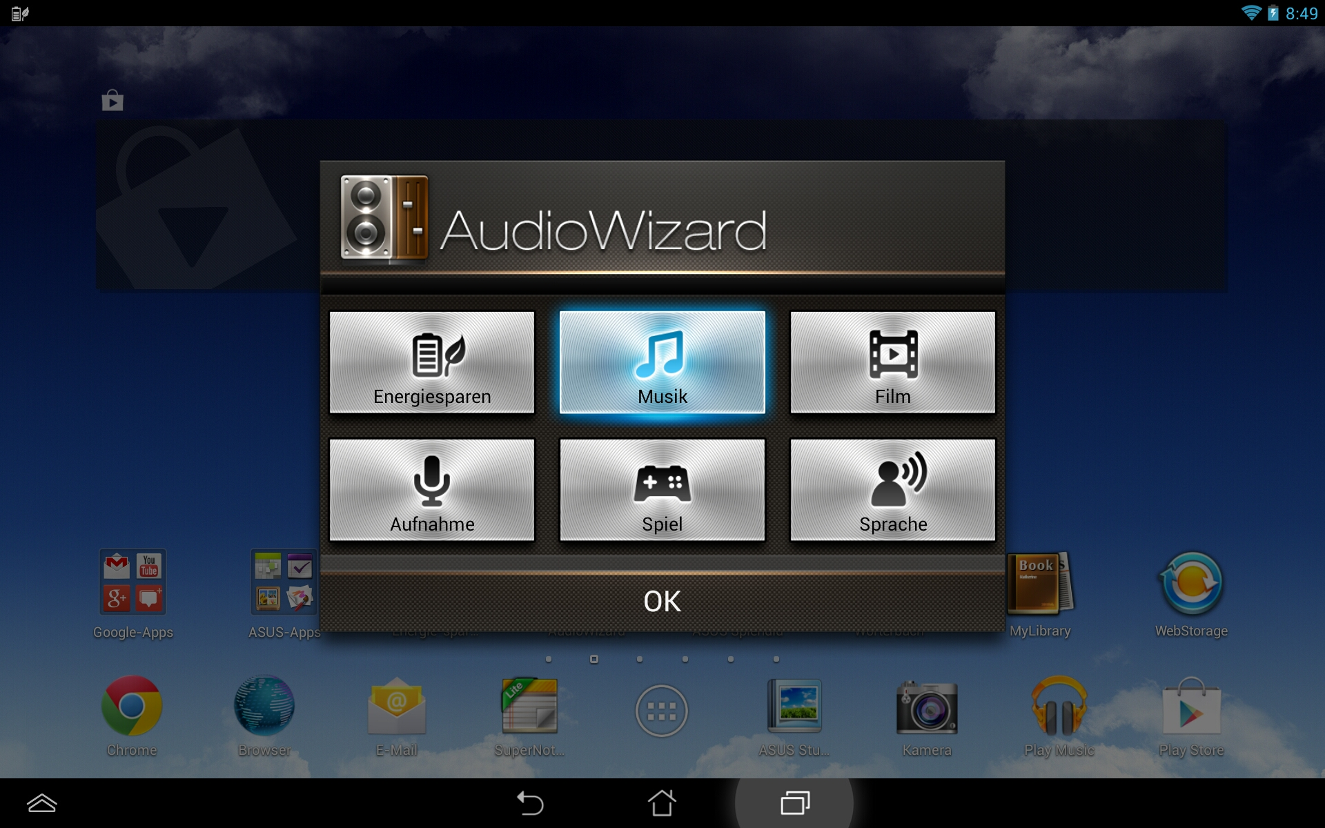 audiowizard asus driver download