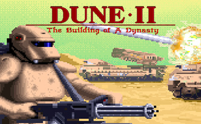 Dune II from 1992 was one of the first true RTS games. (Image source: Westwood/1001Games)