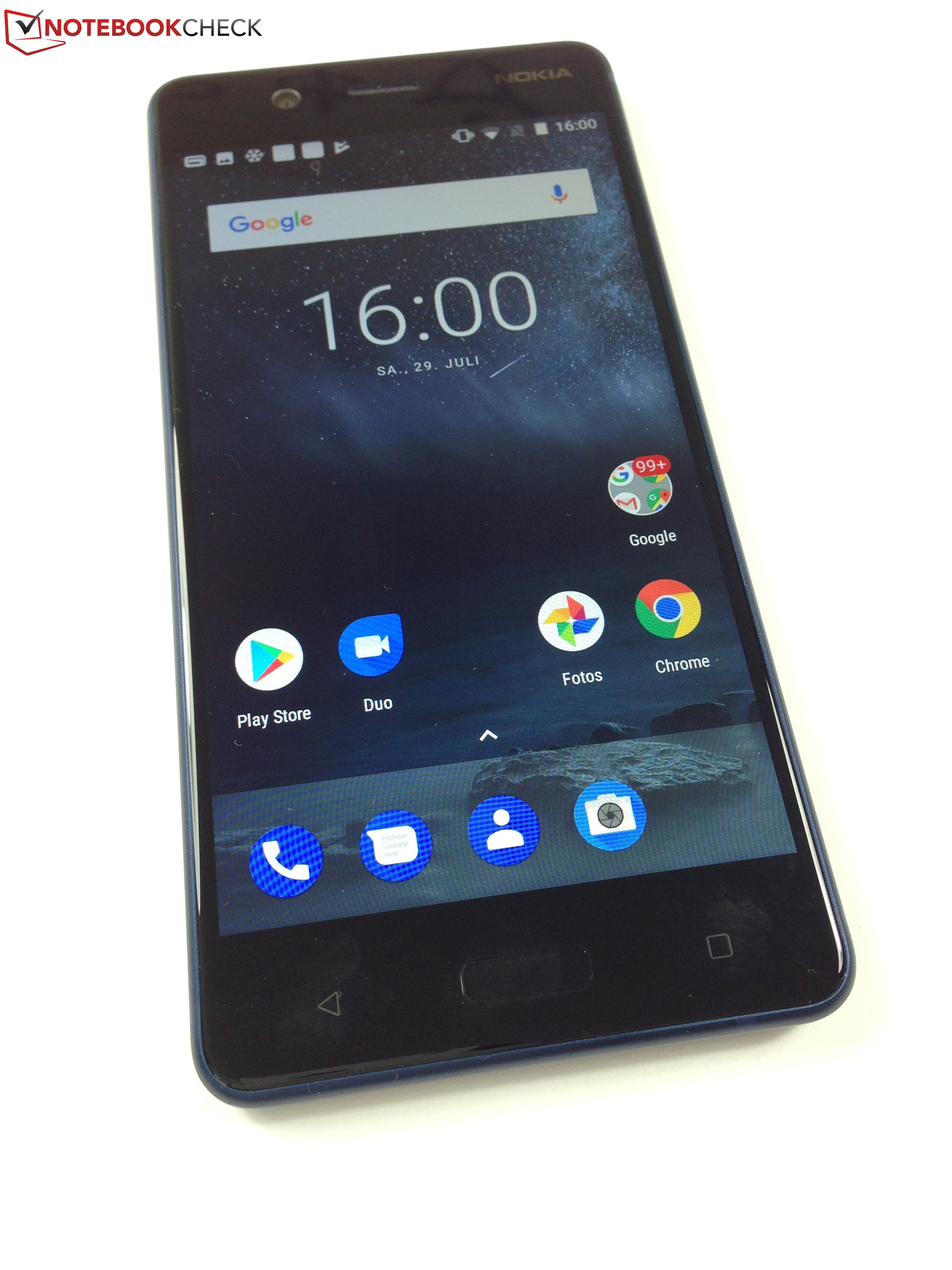 Breve An 225 Lisis Del Smartphone Nokia 5 Notebookcheck Org