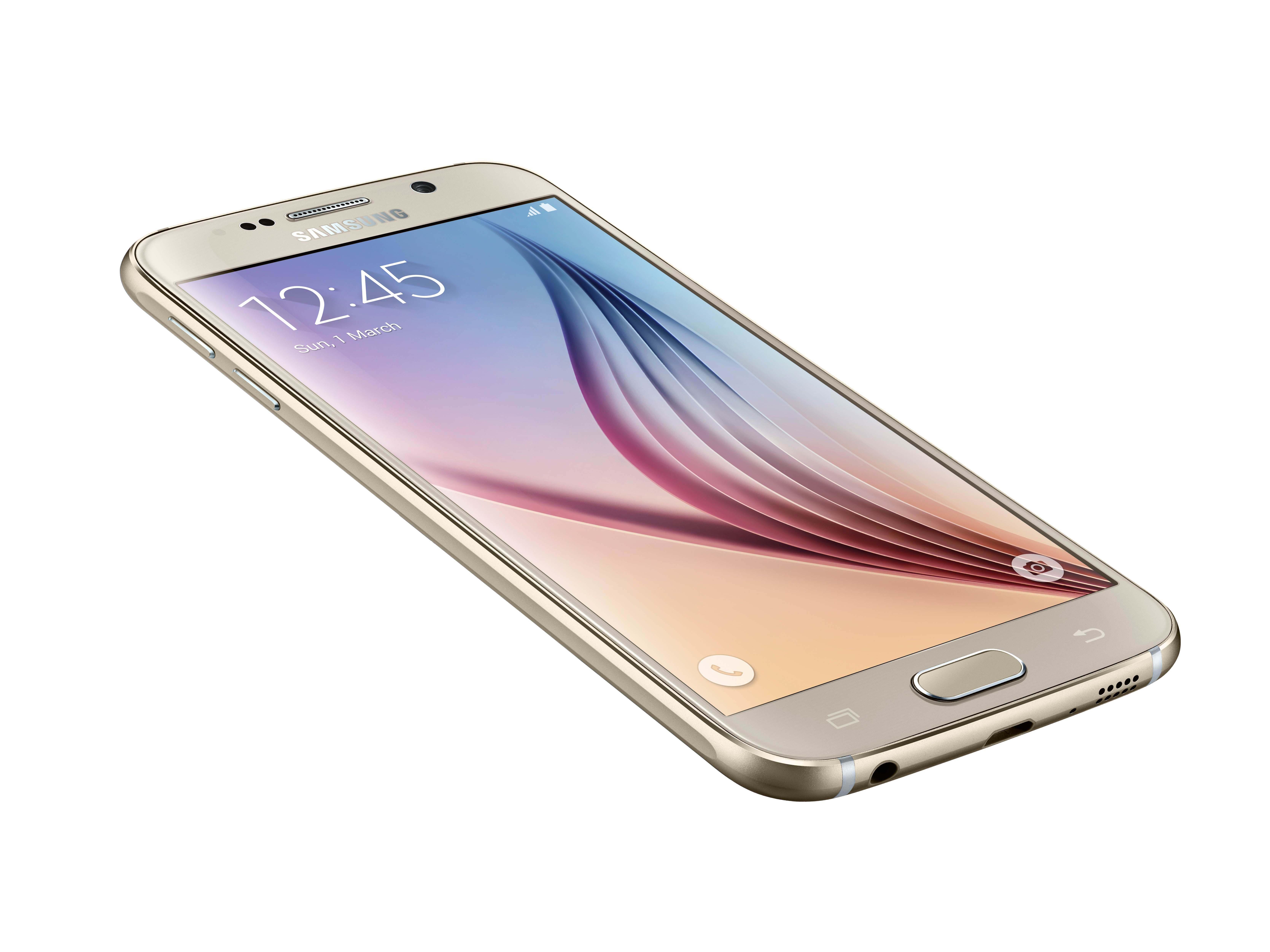Samsung Galaxy S6 Erscheinung