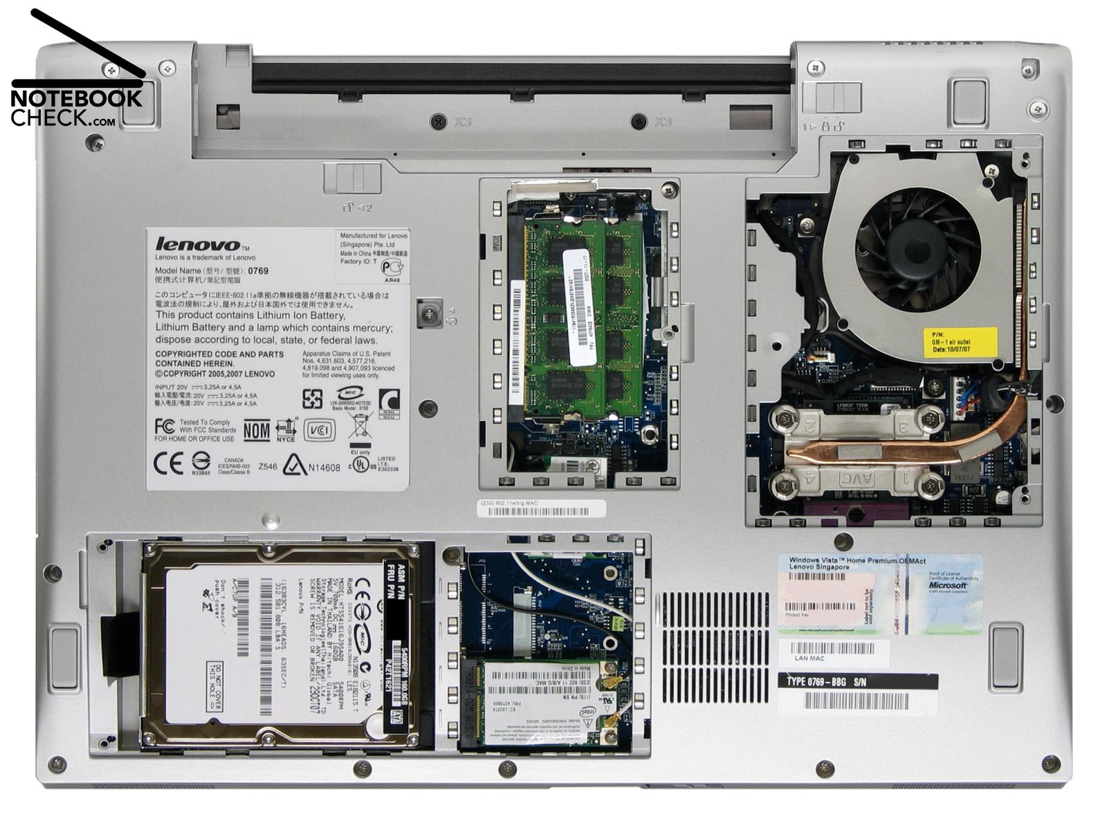 An U00e1lisis Lenovo 3000 N200