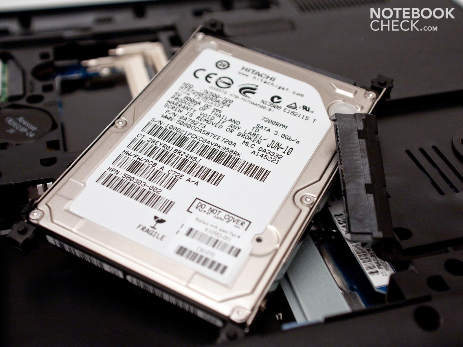 Análisis del Portátil HP Compaq Presario CQ62 - Notebookcheck.org