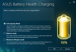 Asus battery health manager