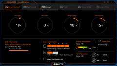 Gigabyte Control Center – Smart Dashboard