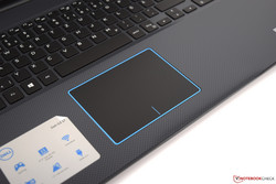 Touchpad del Dell G3 17 3779