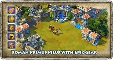 Age of Empires Online will soon have a playable Roman civilization. (Image source: Project Celeste/Microsoft)