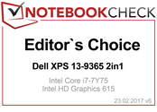 Editor's Choice in Febrero 2017: XPS 13 9365 2-en-1