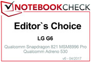 Editor's Choice Abril 2017: LG G6