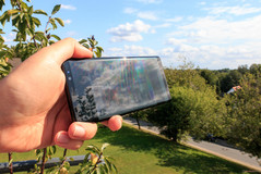 Samsung Galaxy Note 8 al sol