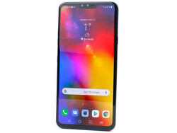El LG V40 ThinQ. Dispositivo de prueba cortesía de LG Germany.
