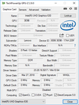 GPU-Z Intel UHD Graphics 630