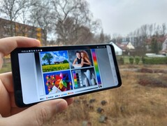Uso del LG G7 Fit Outdoors