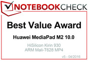 Best Value Abril 2016: Huawei MediaPad M2 10.0
