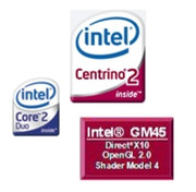 In the Centrino 2 based system an economical 1.2 GHz Core 2 Duo SU9300 processor from Intel, a Graphics Media Accelerator 5400 MHD graphic chip and a total of 4 gigabytes DDR3 RAM provide for sufficient office power.