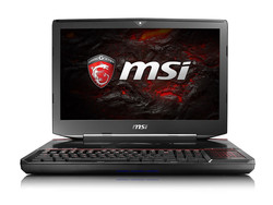 MSI GT83VR 6RE Titan SLI. Modelo de pruebas cortesía de MSI Alemania y Xotic PC.
