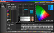 CalMan verificación de color sRGB, modo: vídeo