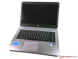 HP EliteBook Folio 1040 G3. Modelo de pruebas cortesía de HP Alemania.