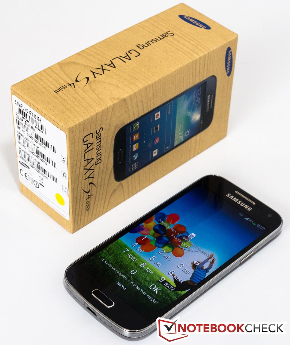an lisis corto del smartphone samsung galaxy s4 mini gt. Black Bedroom Furniture Sets. Home Design Ideas