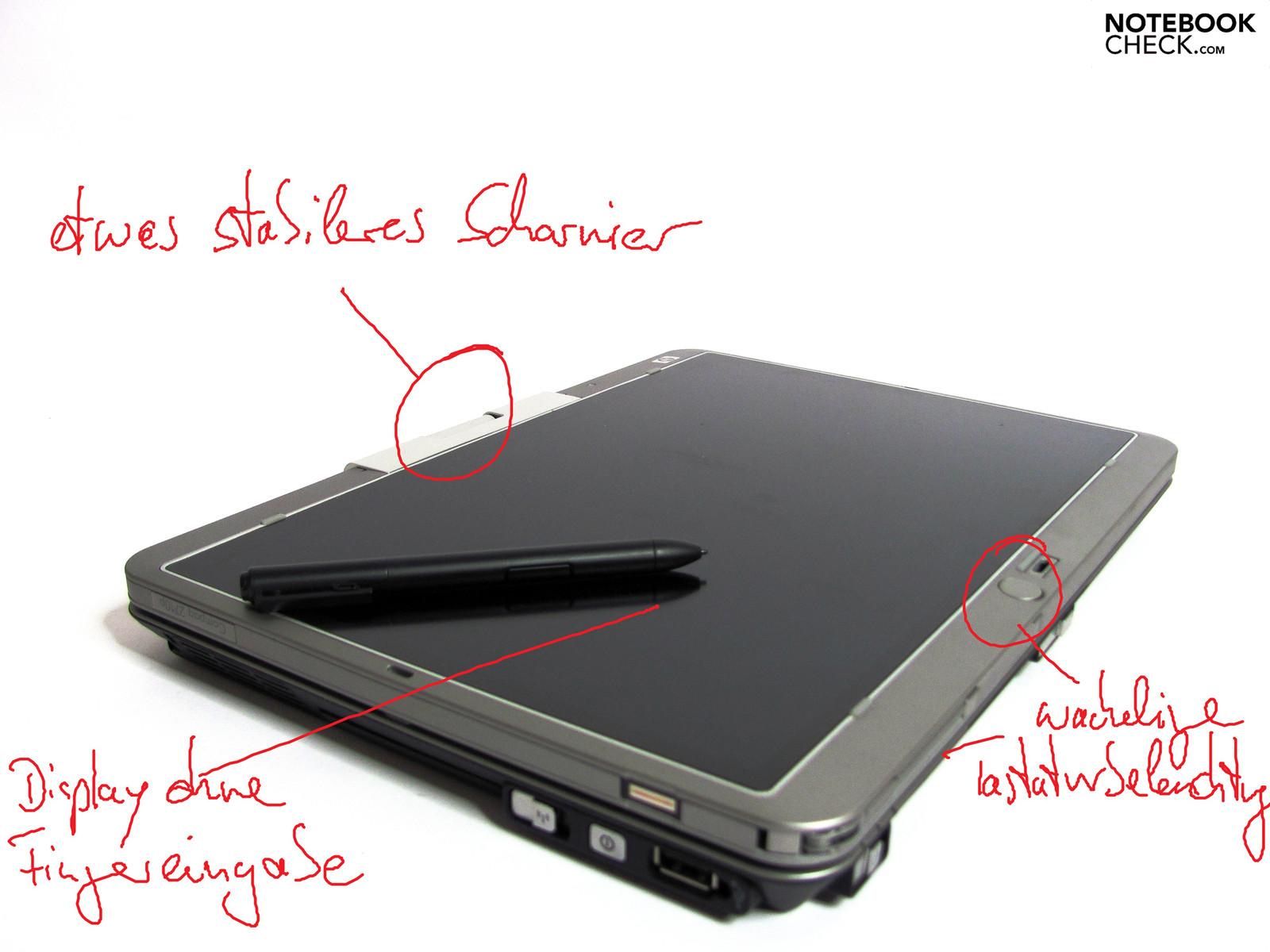 Análisis del Portátil HP EliteBook 2740p - Notebookcheck.org