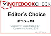 Editor's Choice Abril 2014: HTC One M8