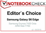 Editor's Choice Mayo 2015: Samsung Galaxy S6 Edge