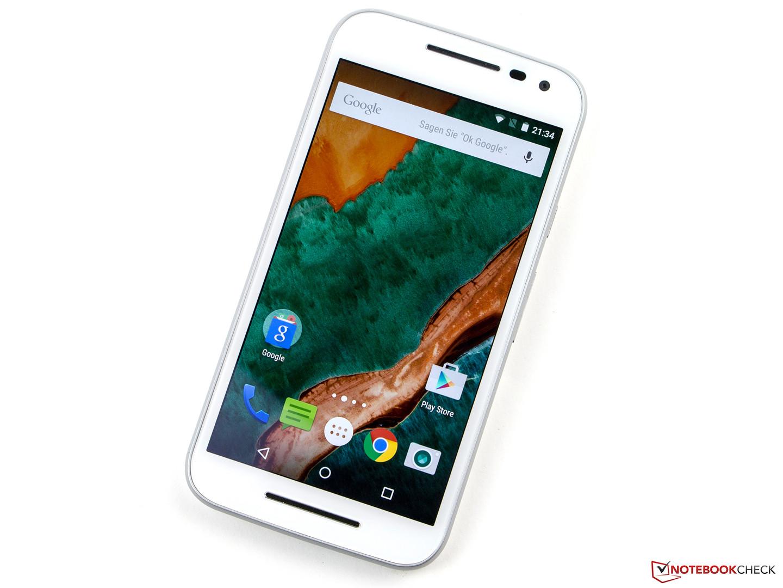c5245b4089f Análisis completo del Smartphone Motorola Moto G (3rd Generation) -  Notebookcheck.org