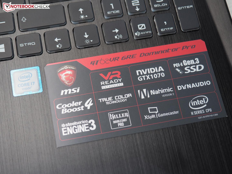 MSI GT60 2QE DOMINATOR PRO 4K EDITION REALTEK CARD READER 64BIT DRIVER