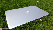 Se ve bien incluso en plena naturaleza: HP Envy 17.
