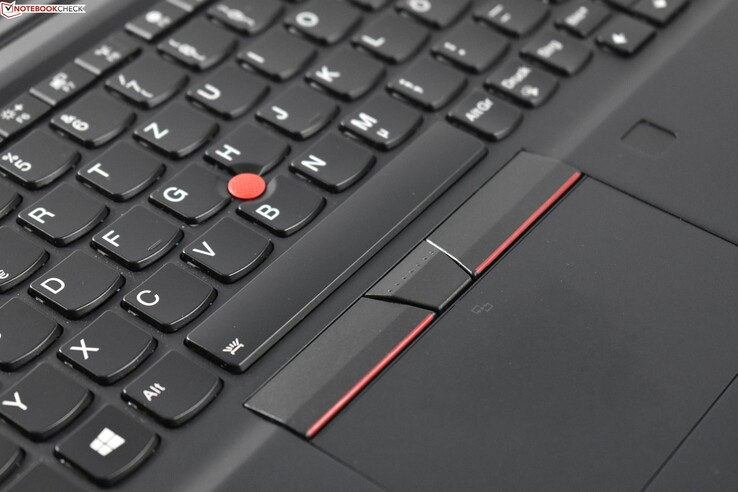 ThinkPad UltraNav: TrackPoint + Touchpad