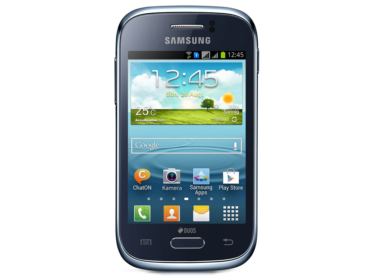 Samsung Galaxy Young Duos Gt S6312 Notebookcheck Org