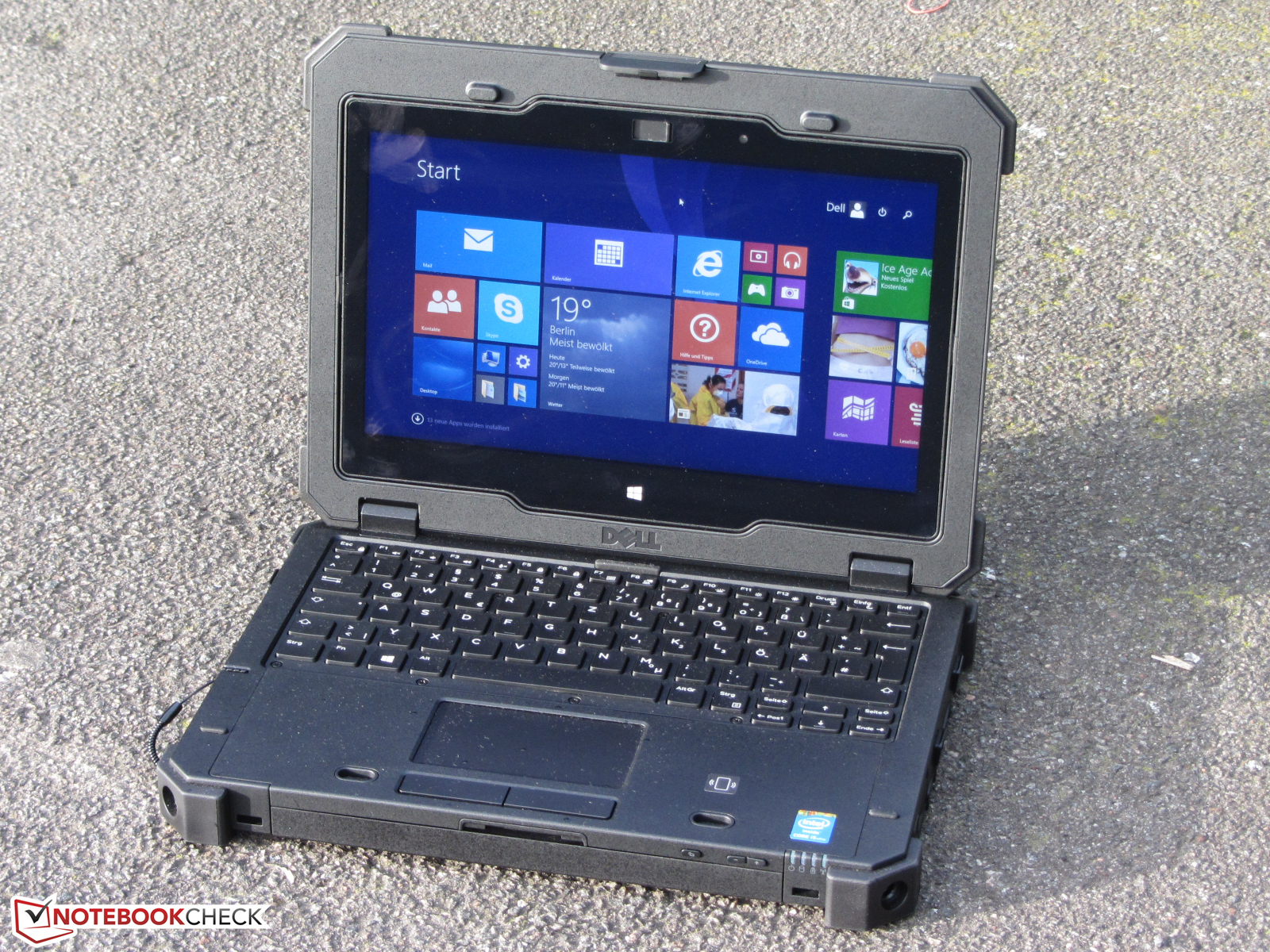 Dell Latitude 12 Rugged Extreme Notebookcheck Org