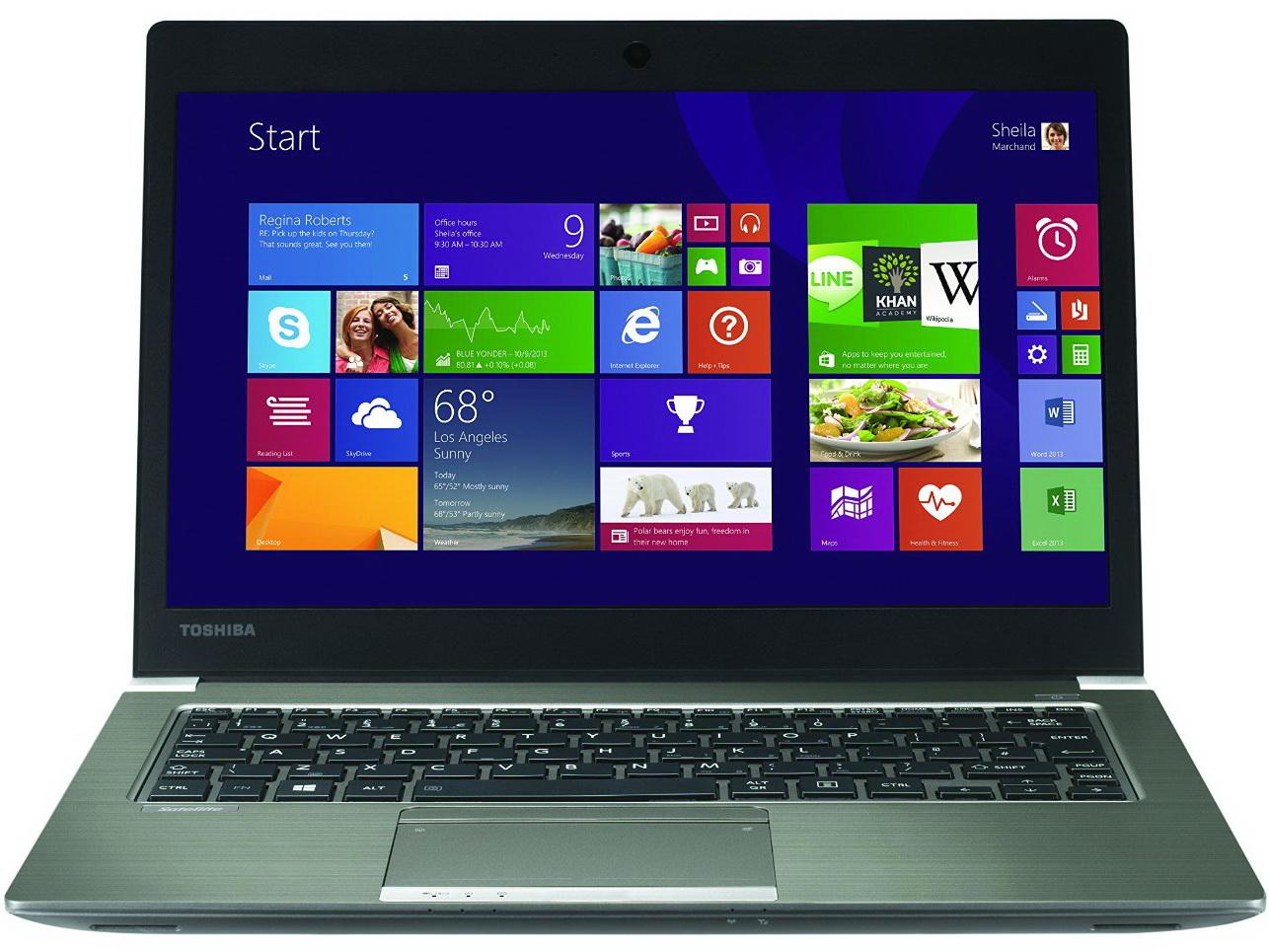 Toshiba Portege Z30-B Intel Chipset Windows Vista 32-BIT